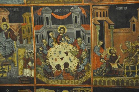 The Church of the Panagia : L'ultima cena