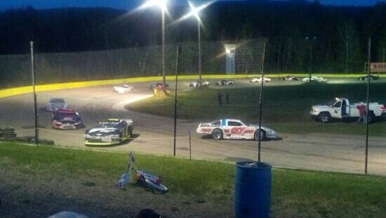 State Park Speedway: spin out at ARCA Race