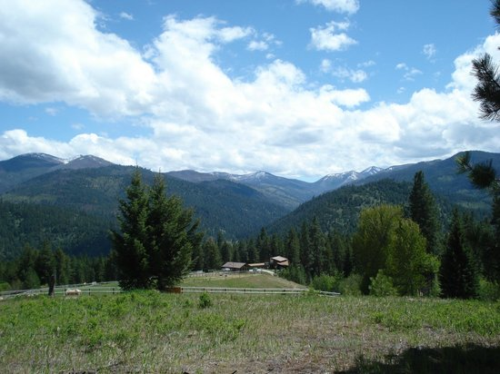 Triple Creek Ranch: View from the property