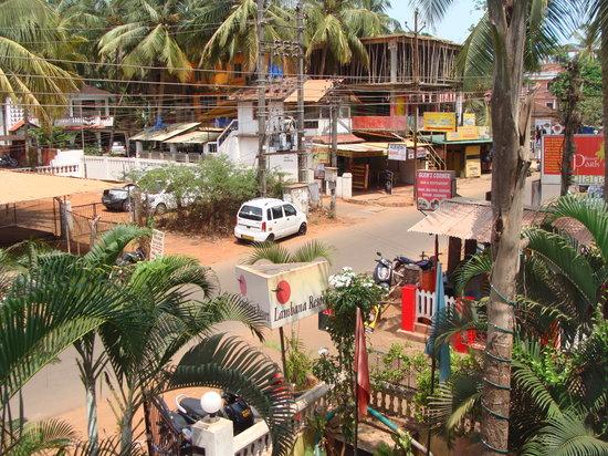 Lambana Resort : Front view from balcony