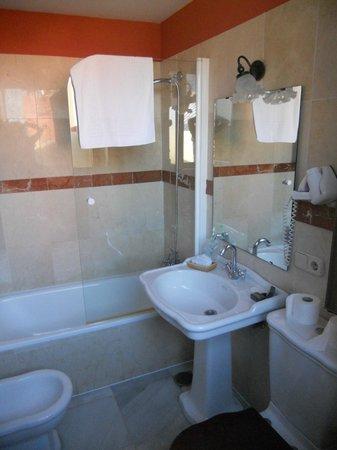 Casona de San Andres Hotel: bagno