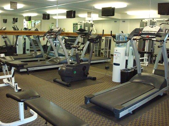 Radisson Hotel San Diego - Rancho Bernardo: Fitness room.