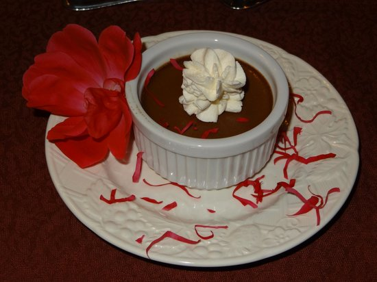 Beechwood Inn: chocolate pot de creme