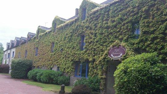 Le Manoir du Rodoir : la façade entrée