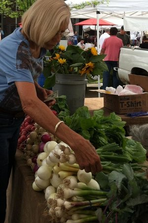 The Market at Pepper Place : Beautiful turnip greens
