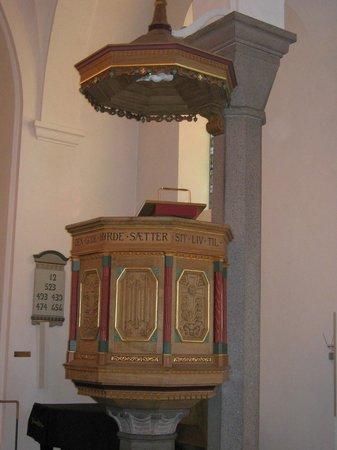 Sct. Nicolai Church: Kanzel