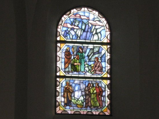 Sct. Nicolai Church: Glasmosaik