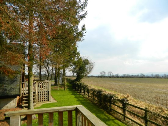 Easthill Farm House: view