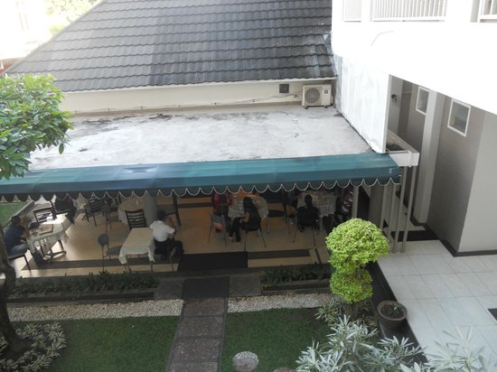 Sriwijaya Hotel: Pleasant view from rooms