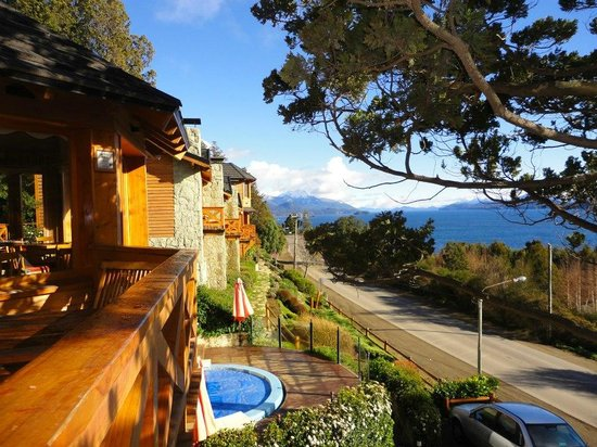 Bungalows Buena Vista: vista desde el balcon del desayunador