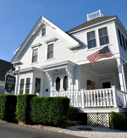 White Porch Inn: The main house of our Provincetown Guest House