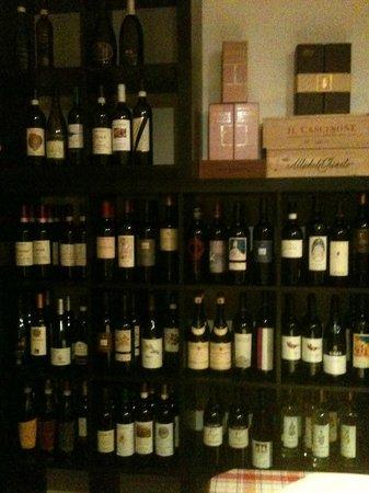 Ristorante della Stazione: la carta dei vini