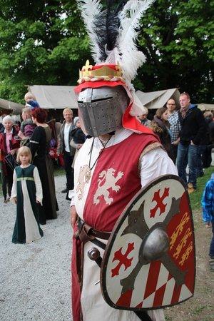 Burgruine: Burg Königstein - Try to catch the Königstein Ritter Tournament