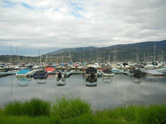 Abbott Villa on the Lake: Boating area at the Okanagan Lake