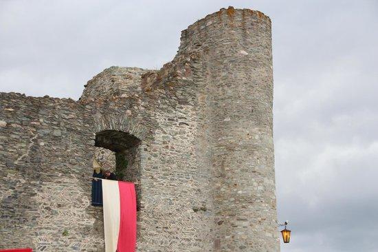 Burgruine: Outside view - Burg Königstein