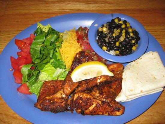 Darrell's Restaurant : Blackened Mahi-Mahi Fish Tacos