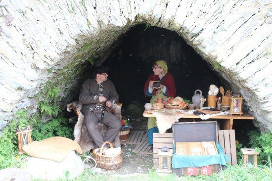 Burgruine: Look for medieval festivals