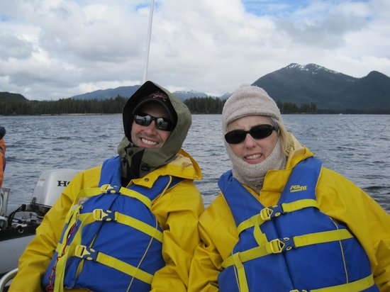 Ketchikan Outdoors: Two happy passengers