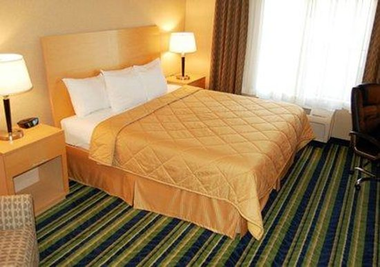 Comfort Inn-Kansas City Airport : Standard King Room