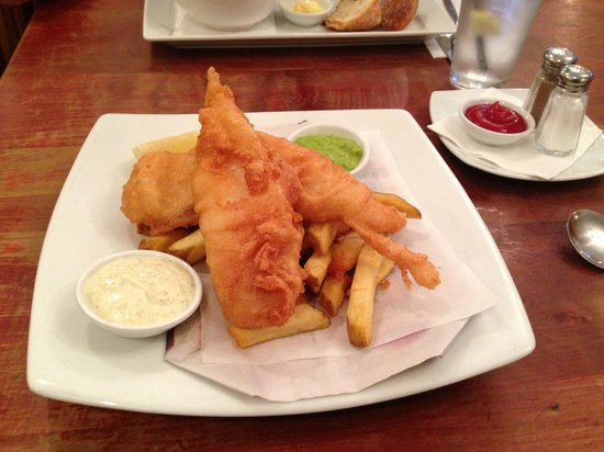 Queensferry Hotel : Great fish & chips!