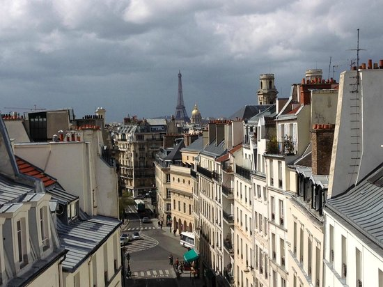 Hôtel Trianon Rive Gauche: View from room