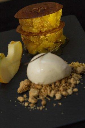 Lauracée : Mon crumble aux pommes