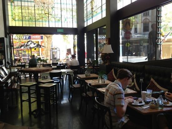 Ground Floor Cafe: Add a caption