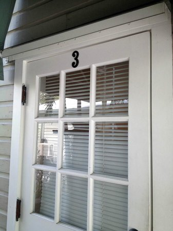 Villas Key West: Door to unit #3