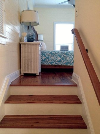 Villas Key West: Staircase to upstairs suite, unit #3