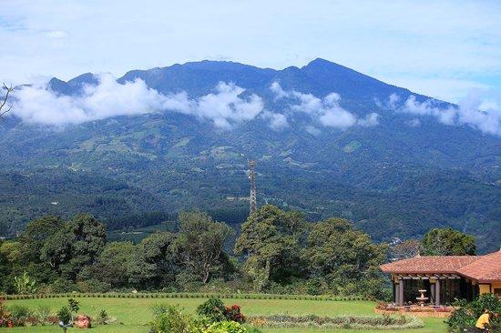 Los Establos Boutique Hotel: Best view of the Volcan Baru