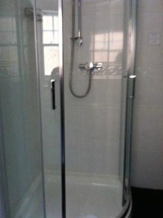 Cloonlara Bed & Breakfast: Look how clean the shower is