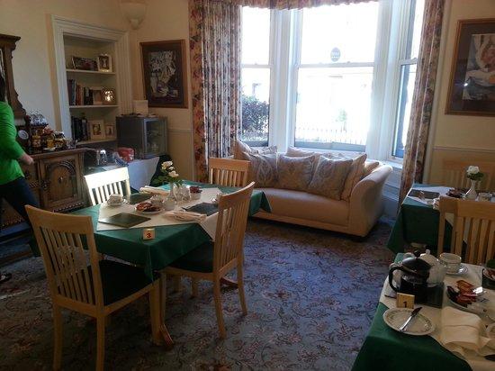 Highfield Guest House: Breakfastroom