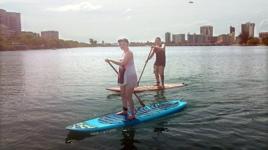 Puerto Rico Paddle Board Tours: Paddle boarding in P.R. May 2013