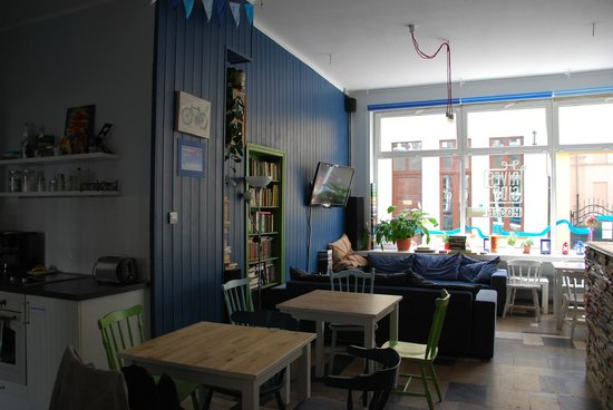 Riverside Hostel : Common room