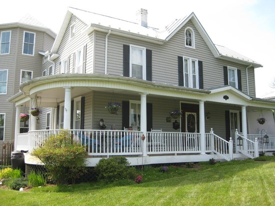 A. C. Stickley Bed and Breakfast: Exterior with fabulous porch