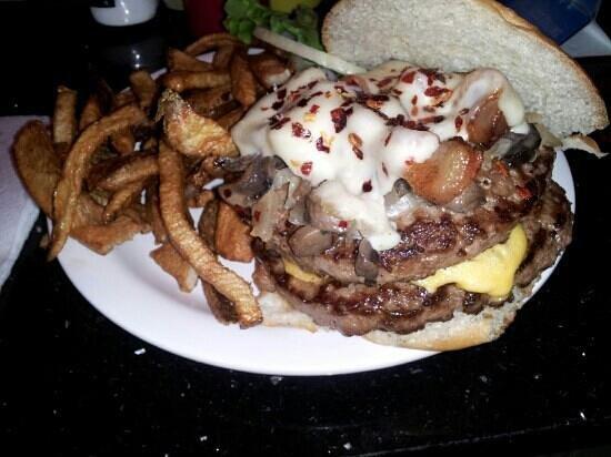 Tiny's Tavern: The Tiny's burger.
