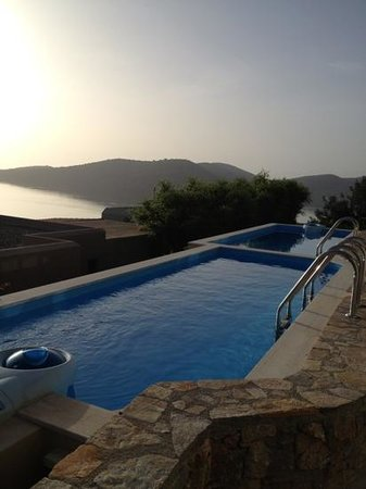 SENTIDO Elounda Blu: This was our private pool