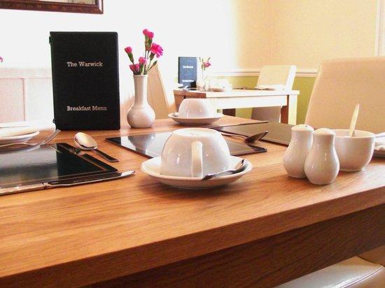 The Warwick: Breakfast Room