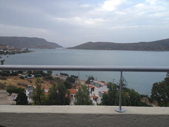 SENTIDO Elounda Blu: view from the asian resturant