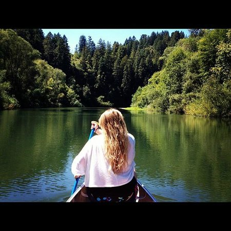 Burke's Canoe Trips on the Russian River: Serenity