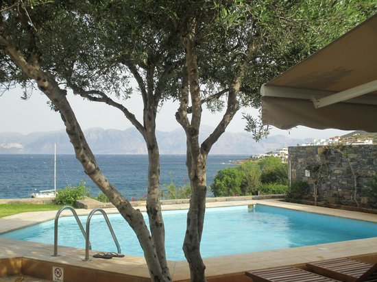 Elounda Mare Relais & Chateaux hotel: private pool bungalow 2