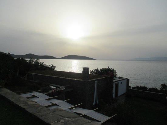 Elounda Mare Relais & Chateaux hotel: sunrise