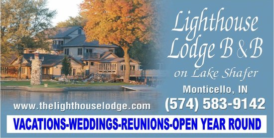 Lighthouse Lodge B&B: business card