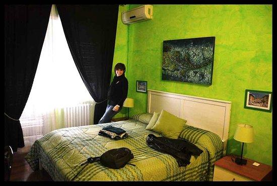 Bed a  San Pietro Roma: Camera verde