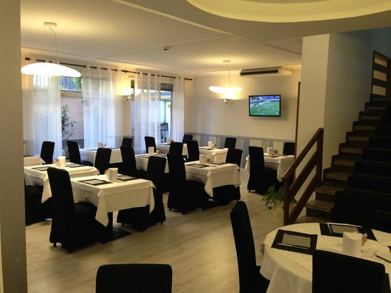 Hotel Cairo : La sala colazione