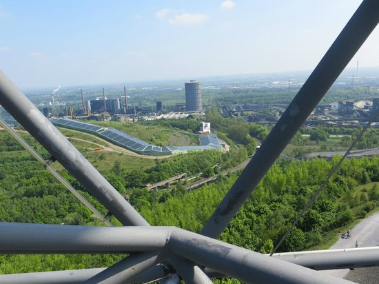 Tetraeder Bottrop: Panoramic view from the upper ring