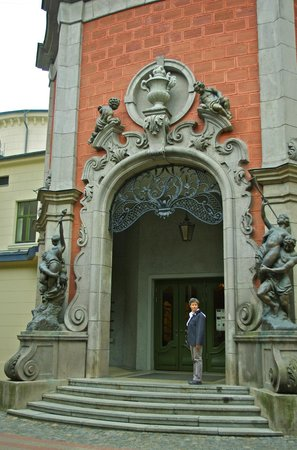 Splendid Palace: Main entrance to the cinema