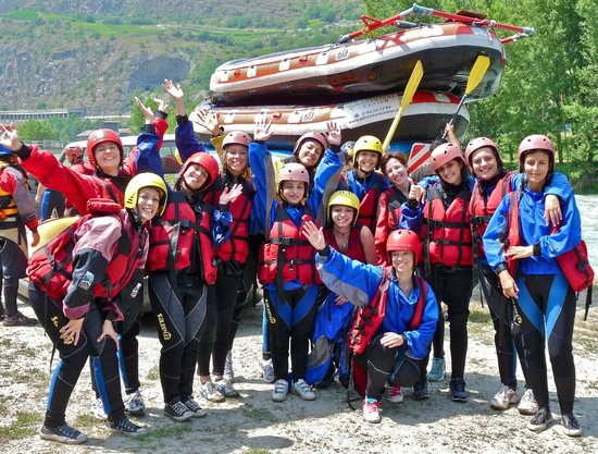 Rafting Adventure: grandi soddisfazioni ;-)