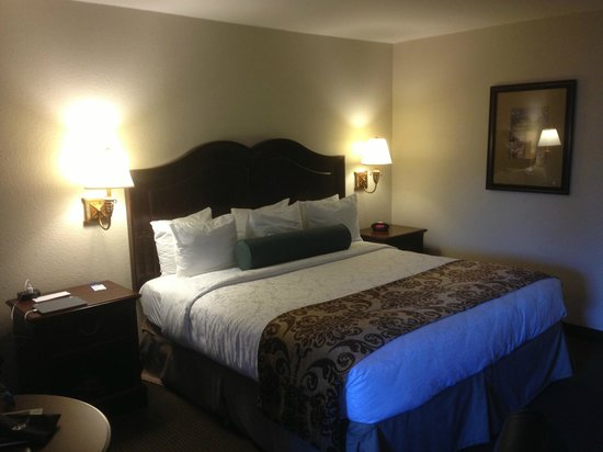 Best Western Plus Inn At The Vines: King bed was quite comfortable