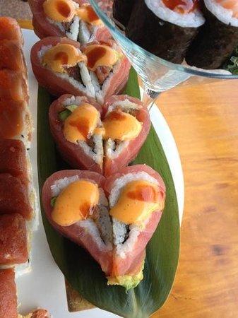 Edo Sushi: sweetheart maki